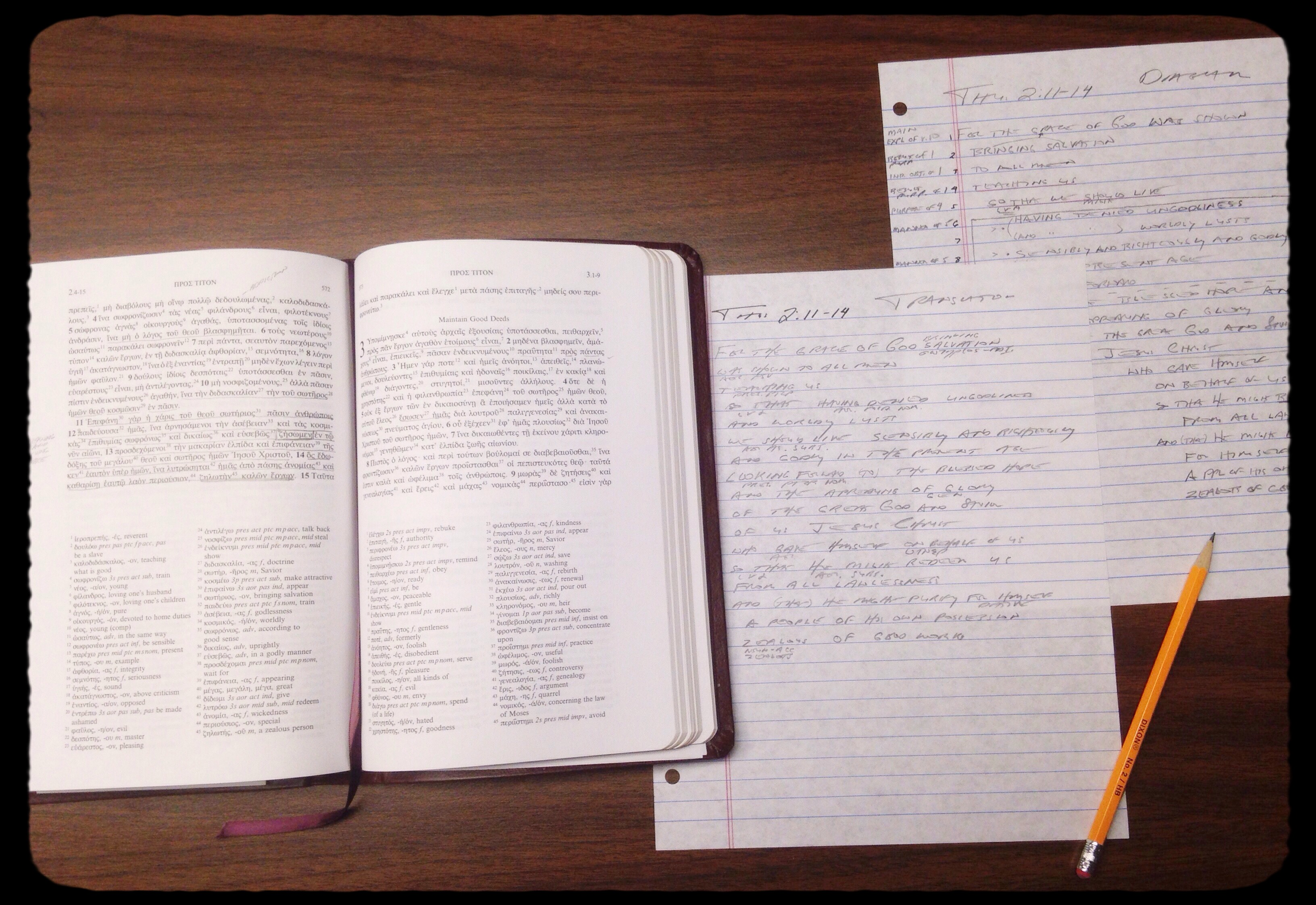 Bible Reading and Study – Dean H  Taylor